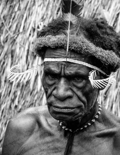 Dani Tribe | Caretaker of a black mummy