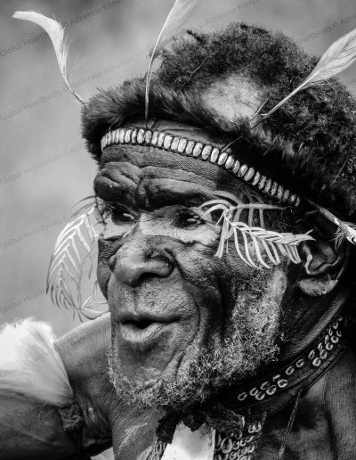 Dani Tribe | Chief of the Dani Tribe