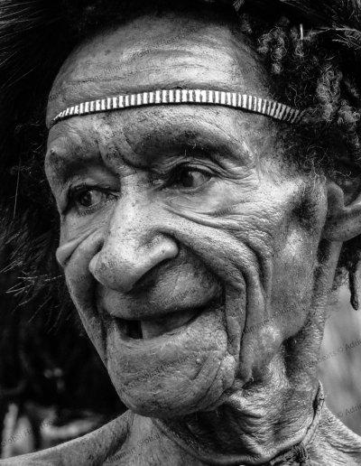 Dani Tribe | Dani Tribe elder
