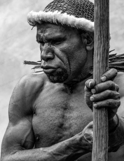 Dani Tribe | Man carries spear