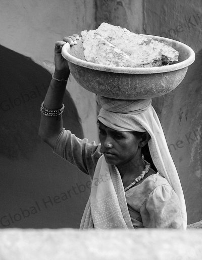 India | Woman at work