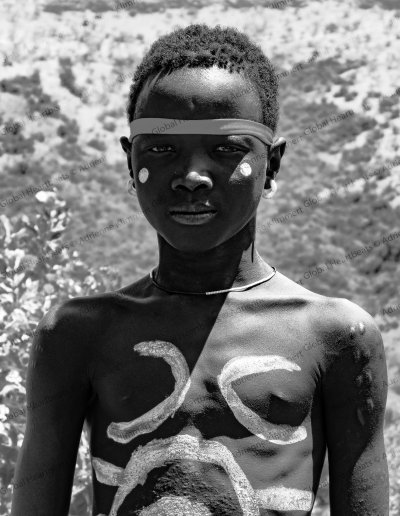 Mursi Tribe | Body painting