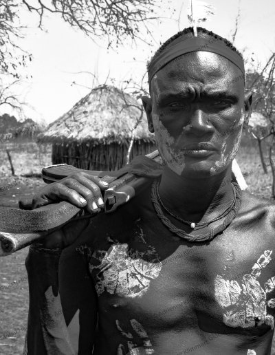 Mursi Tribe | Mursi warrior, proud and strong