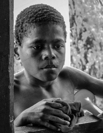 Papua Barat | Sentani Lake island boy