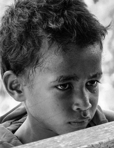 Papua Barat | Young Sentani Lake island boy
