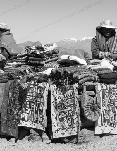 Peru | Best sales spot, on top of the world
