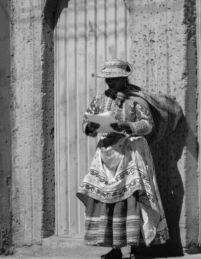 Peru | Colourful in black and white